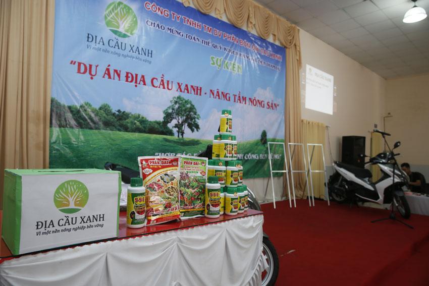 Chương trình địa cầu xanh nâng tầm nông sản