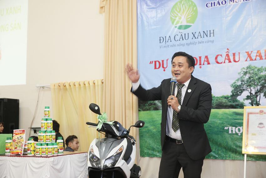 Giám đốc Trần Giang Hà nói về Nâng Tầm Nông Sản