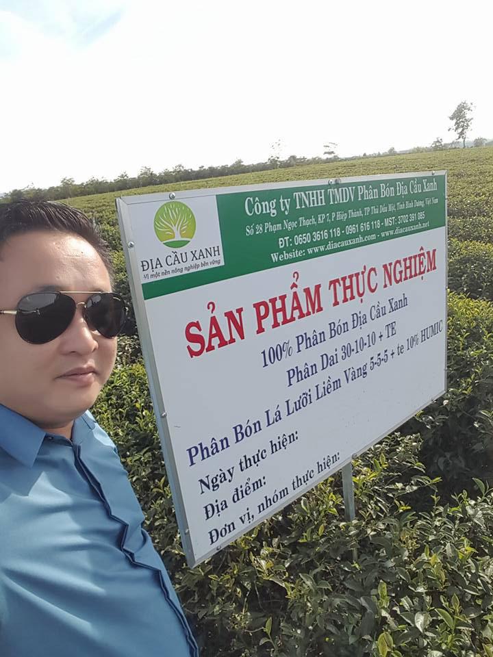 Giám đốc trần giang hà thăm vườn chè đầu năm 2016