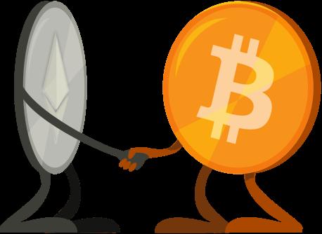 Bitcion và Ethereum đầu tư