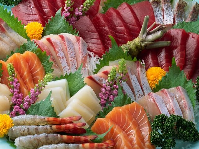 Cá thịt và hải sản âm dương