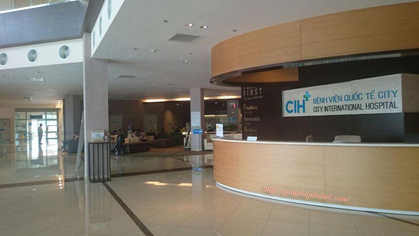 Bệnh viện quốc tế City ở Bình Tân