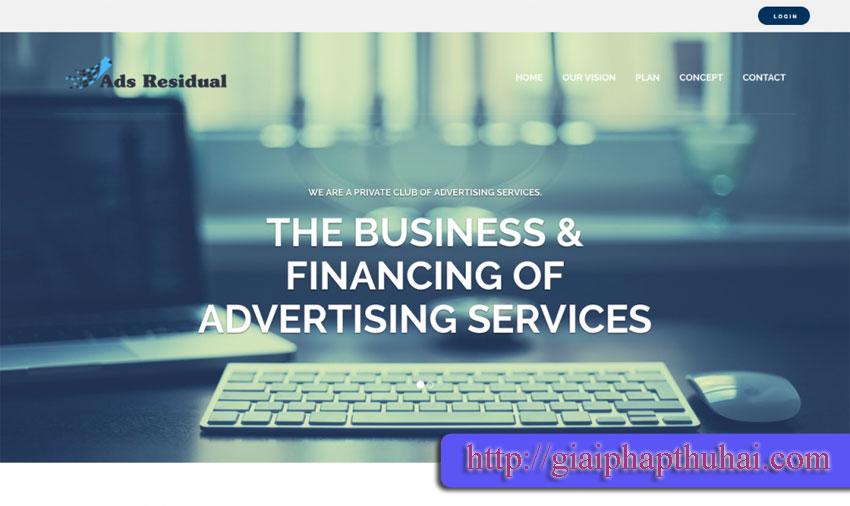 ads residual công ty chạy quảng cáo lâu dài