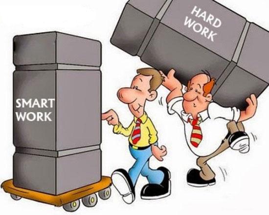 Hãy làm việc thông minh để trở nên giàu có