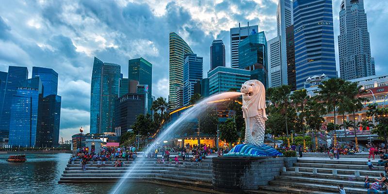 biểu tượng của singapore