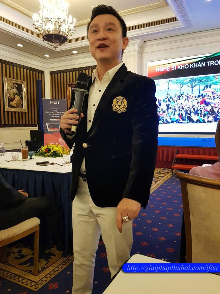 Diệp khắc cường và cộng đồng ifan và vfan