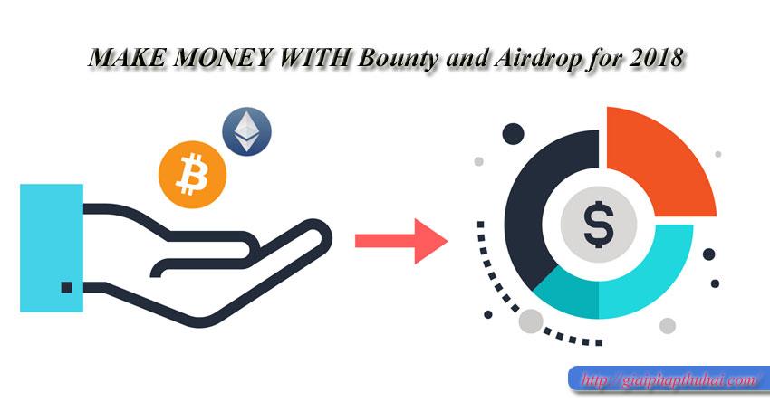 Bounty and Airdrop là gì? giúp cho người mới hiểu về nó