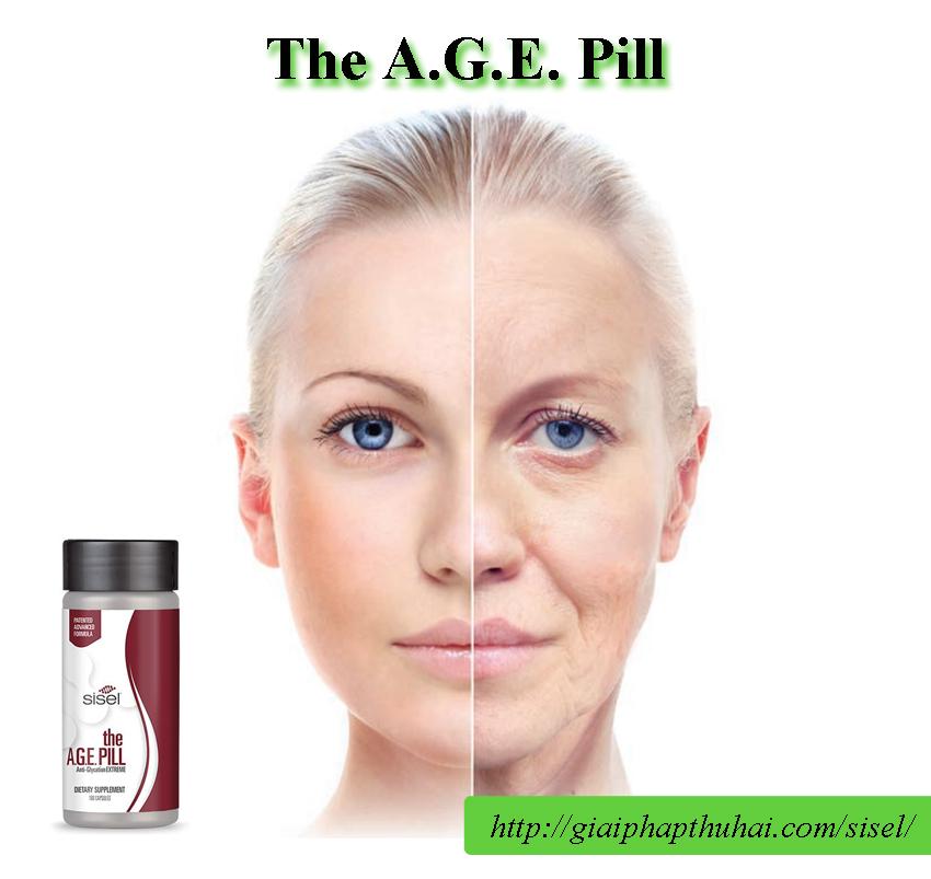 Sản phẩm The A.G.E Pill giúp bạn cải lão hoàn đồng cho làn da trẻ đẹp tự nhiên