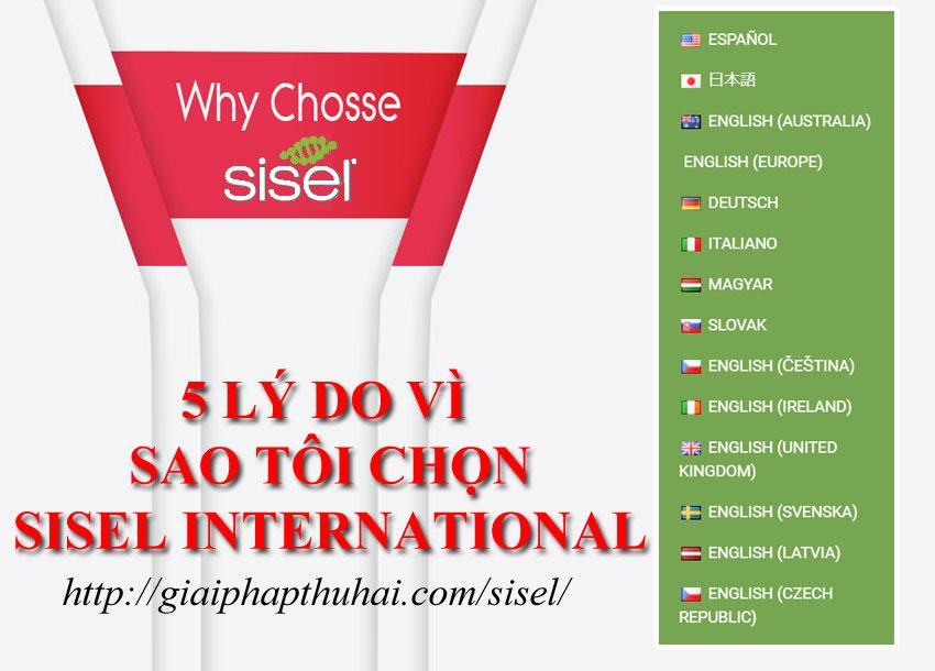 5 lý do vì sao tôi chọn sisel international