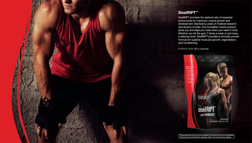 Dòng sản phẩm fitness của Sisel international