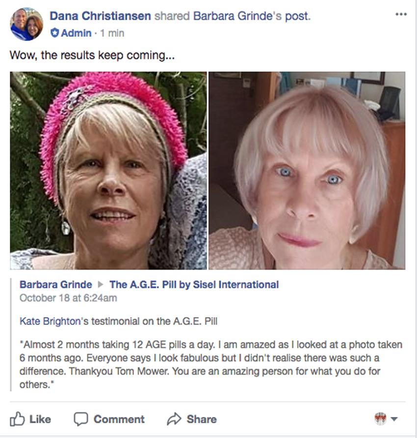 Bà cụ 80 tuổi và kết quả dùng age pill