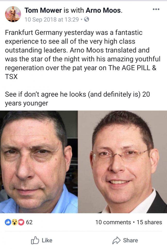 kết quả của khách hàng sử dụng the age pill