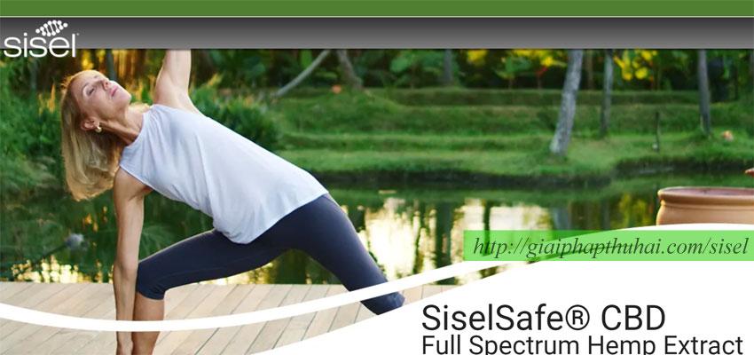 Sản phẩm mới SiselSafe® CBD Full Spectrum Hemp Extract