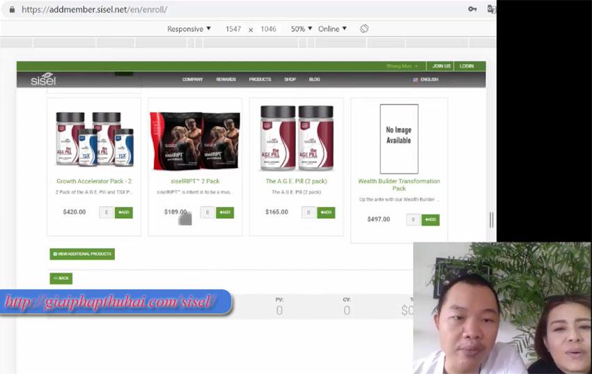 Hướng dẫn đăng ký mã số với sisel international