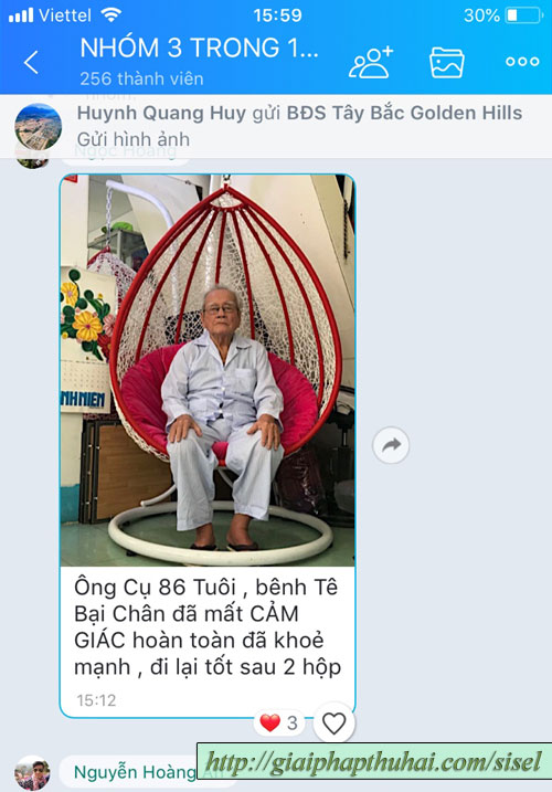 cụ ông 86 tuổi dùng age pill và có thể đi lại tốt
