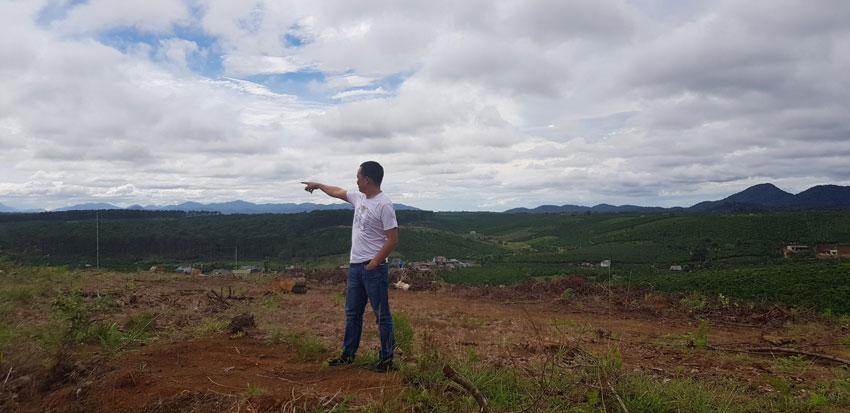 Đất dự án 25h tại khu vực tây nguyên