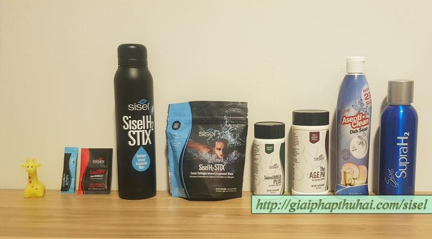 Những sản phẩm của công ty SISEL đã có mặt tại Việt Nam