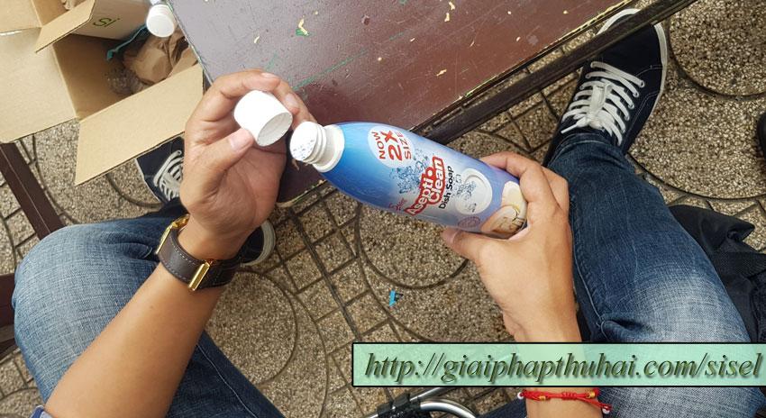 Nước rửa chén của công ty SISEL INTERNATIONAL