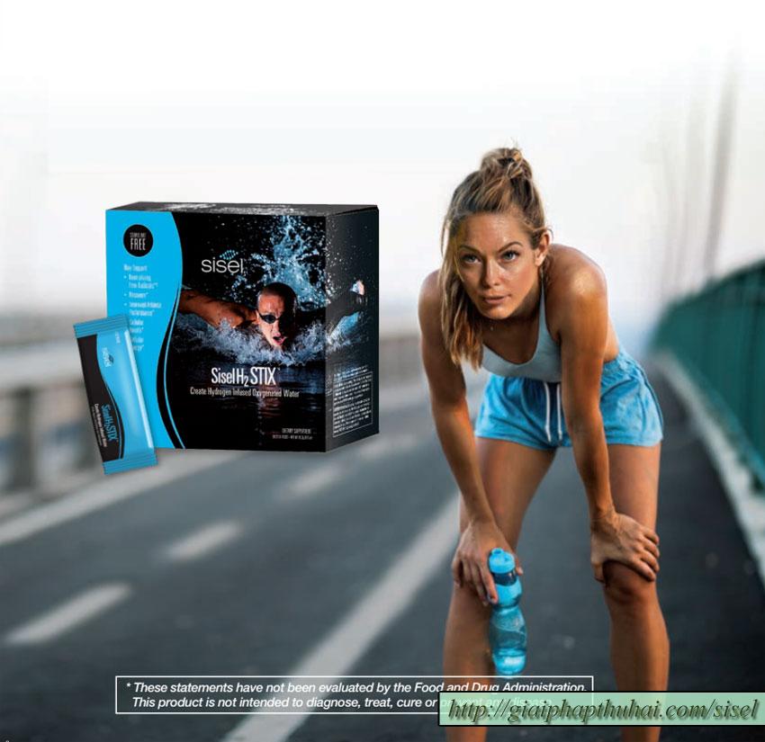 siselh2stix giúp bạn phục hồi mạnh mẽ sau khi vận động