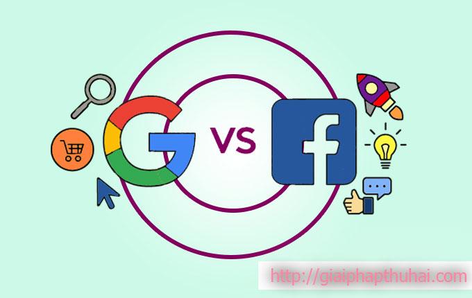 Thị trường khách hàng của 2 ông lớn facebook và google