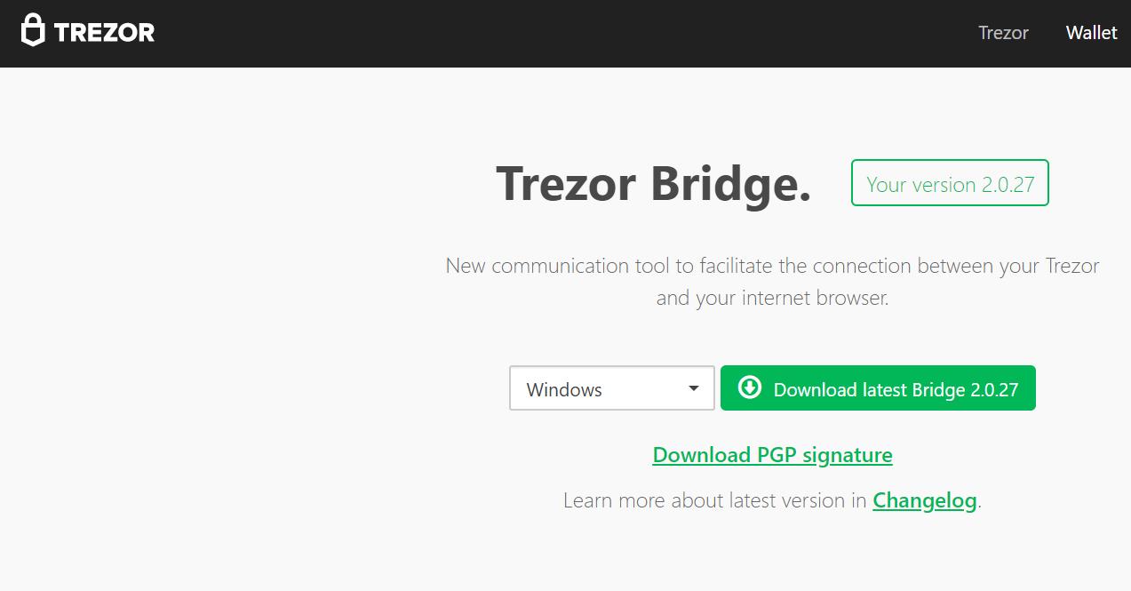 bản cập nhật mới cho ví Trozer của bạn