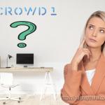 Dự án Crowd1 là gì? Hiểu đúng về Crowd1?