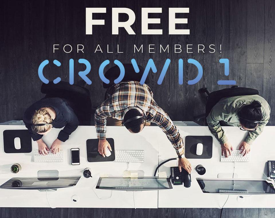 Đăng ký tài khoản với Crowd1 là miễn phí