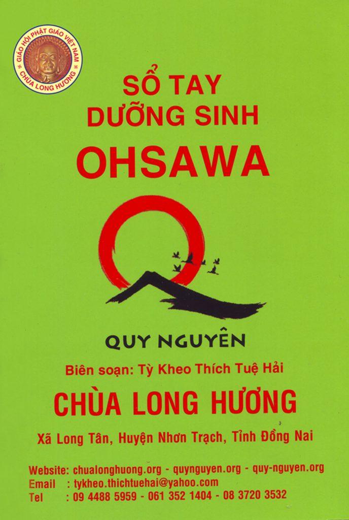 Sổ tay dưỡng sinh ohsawa 2020