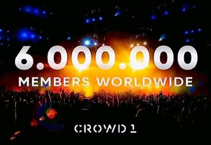 Số thành viên của Crowd1 hiện tại